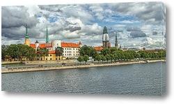 Картина Рига Старый Город