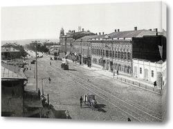 Картина Вид на Большую Садовую в деталях 1890  –  1895