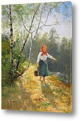 Картина Маленькая девочка Халланде
