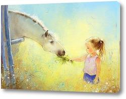 Картина Про лошадку