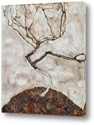 Небольшое дерево в конце осени, 1911