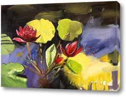 Картина Водные лилии
