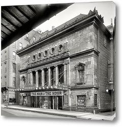 Картина Театр Иллинойс, Чикаго, 1907