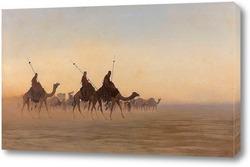 Картина Великий караван Мекки