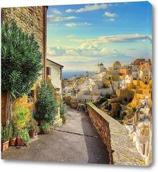 Цветущая улица Испании
