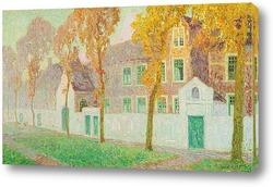 Картина Осень в Брюгге
