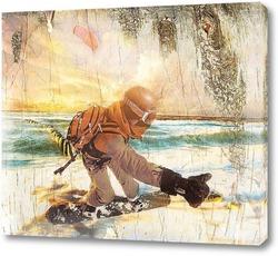 Картина Сноубординг