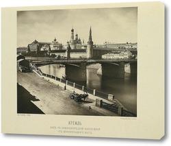 Картина Вид с Замоскворецкой набережной,1888