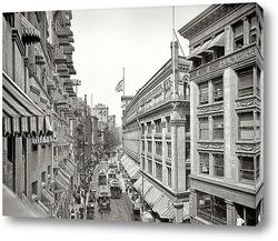Картина Вашингтон-стрит, 1906