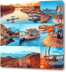 Картина Красочный Китай