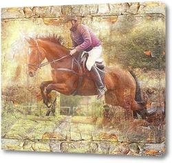 Картина конный спорт