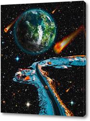 Картина Метеоритный дождь