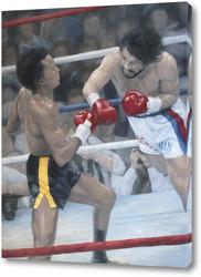 Картина На ринге Леонард - Дюран