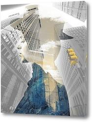 Картина Проспект в Нью-Йорке