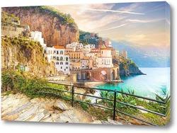 Картина Утро на побережье Амальфи