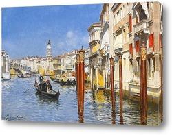 Гранд-канал с моста Риальто, Венеция