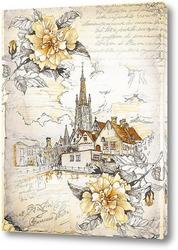 Картина Церковь Богоматери в Брюгге