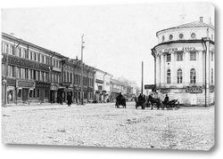 Картина В начале Русиной улицы 1910  –  1911 ,  Россия,  Костромская область,  Кострома