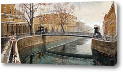 Картина Мосты Санкт-Петербурга