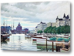 Картина Северный Берег, Хельсинки, Финляндия