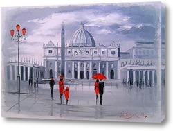 Картина Прогулка в Риме