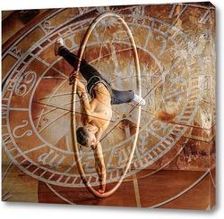 Картина  Цирковой художник
