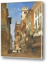 Картина Палаццо Маффей,Верона