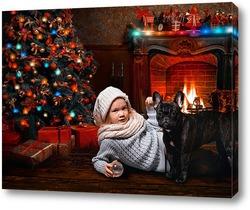 Вечер у новогодней елки