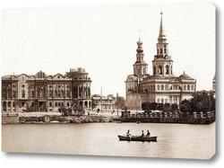 Картина Екатерининский собор, 1900