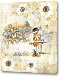 Картина Путешествие по Италии