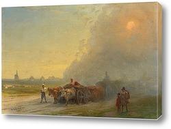 Закат на Искья 1857