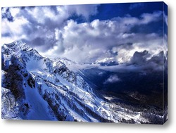 Картина Дорога в горах
