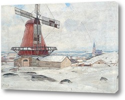 Картина Ветряная мельница