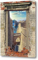 Картина Окно в гавань