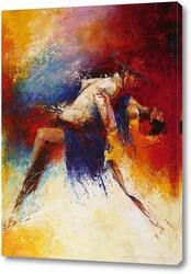Картина В ритме страсти и кипящей крови