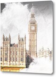 Картина Биг Бен Лондон