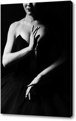 Балерина в черном, танец