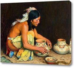 Картина Глиняная посуда