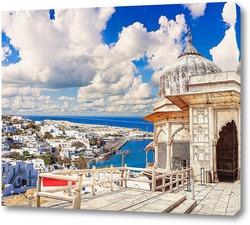 Картина Остров Миконос в Греции