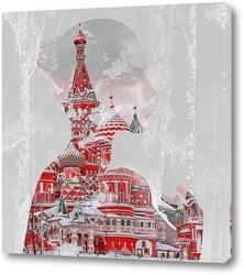 Картина Собор Василия Блаженного