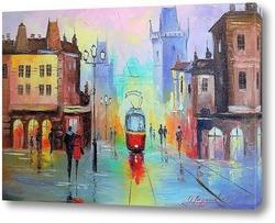 Картина Прогулка в Праге