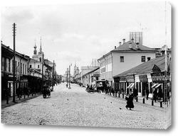 Картина Большая улица 1909  –  1913 ,  Россия,  Владимирская область,  Владимир