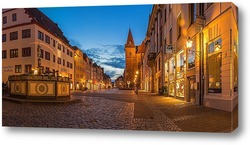 Картина Вечер на старой площади