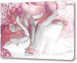 Картина Влюбленные обьятия