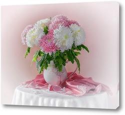 Картина Нежность хризантем