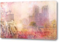 Картина Готический собор