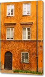 Картина Дом с растением