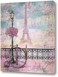 Картина Романтичный Париж