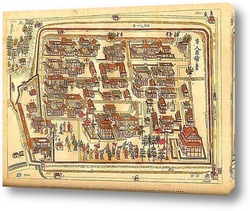 Картина Карты городов_9