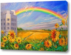 Картина Под радугой